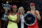 FINAL AUSTRALIAN OPEN 2015 : Taklukkan Sharapova Dua Set Langsung, Serena Juara