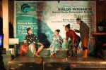 FOTO PENTAS KETOPRAK : Ketoprak Kampung Ajak Selamatkan Indonesia