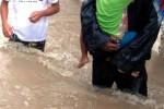 BANJIR SEMARANG : 7 RW Terendam Banjir Sungai Bringin