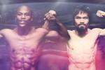 TINJU DUNIA : Manny Pacquaio dan Floyd Mayweather Selesai Lakukan Timbang Badan