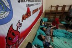 STOK DARAH PMI : Donor Darah Minim saat Ramadan, PMI Solo Buka Stan di Swalayan