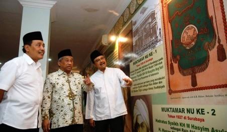 FOTO MUKTAMAR NU : Muktamar ke-33 NU Soft Launching