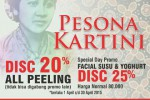 CATALUNYA Skin Centre, Pesona Kartini, Promo Diskon 20%