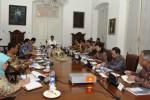 Ilustrasi rapat terbatas di Istana Kepresidenan Bogor (Andika Wahyu)