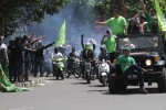 KONVOI PARPOL : Langgar Lalin, Polisi Diam