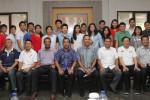 PIALA SUDIRMAN 2015 : Tim Bulu Tangkis Indonesia Galang Kebersamaan