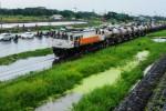 Banjir Porong Sebabkan KA Terlambat hingga 4 Jam di Stasiun Madiun