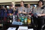 MIRAS SOLO : Polisi Ciduk Pemabuk di Kafe dan Tempat Karaoke