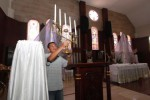 FOTO PASKAH 2015 : Ekaristi Petang Disiapkan Gereja Purbayan