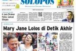 SOLOPOS HARI INI : Eksekusi Mati: Mary Jane Lolos di Detik Akhir