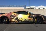 MODIFIKASI MOBIL : Ferrari 458 Tampil Keren Dibalut Gadis Anime