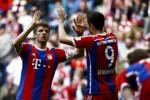 BAYERN MUNICH VS EINTRACH FRANKFURT : Bayern Tinggal Butuh Tiga Kemenangan untuk Pastikan Juara