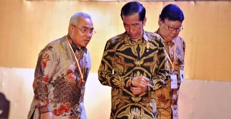 AGENDA PRESIDEN : Jokowi Ketemu Keluarga Djoko S. Tjandra di Papua, Ini Penjelasannya