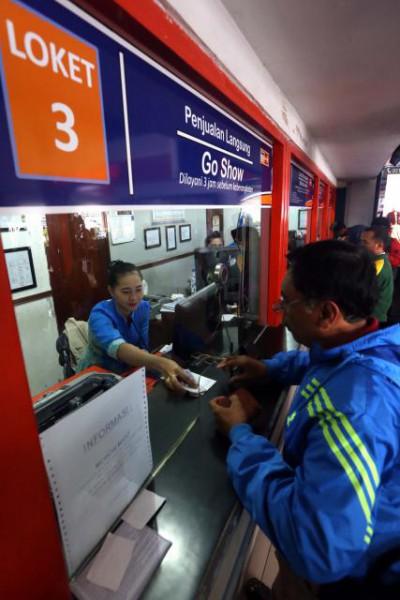 ANGKUTAN LEBARAN : Waduh, Tiket Kereta untuk Lebaran Sudah Ludes