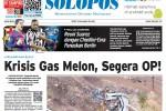 SOLOPOS HARI INI : Laka Karambol Wonogiri hingga Krisis Gas Melon