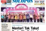 SOLOPOS HARI INI : Menteri Tak Takut Reshuffle Kabinet