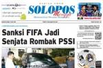 SOLOPOS HARI INI : Sanksi FIFA Jadi Senjata Rombak PSSI hingga Golkar Akhirnya Islah