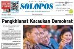 SOLOPOS HARI INI : Dinamika Partai Demokrat hingga Kecelakaan Maut Cikampek