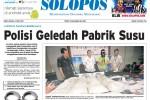 SOLOPOS HARI INI : Polisi Geledah Pabrik Susu hingga Sipir LP Simpan 16 Kg Sabu-Sabu