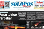 SOLOPOS HARI INI : Pasar Johar Terbakar hingga Prostitusi Online Artis AA