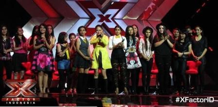 X FACTOR INDONESIA : Intip Lagi Daftar Lagu Kontestan Girls dan Grup Lolos di The Chairs
