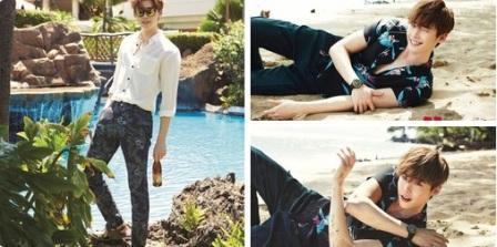 K-POP : Berpose Ganteng, Lee Jong Suk Bicara Soal Karier