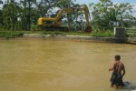 IRIGASI SUKOHARJO : Perbaikan Tanggul Bocor Colo Rampung