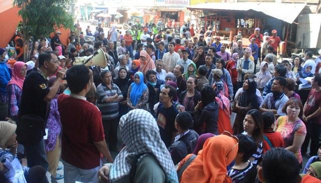 PASAR JOHAR TERBAKAR : Pembangunan Pasar Darurat Butuh Rp27 Miliar