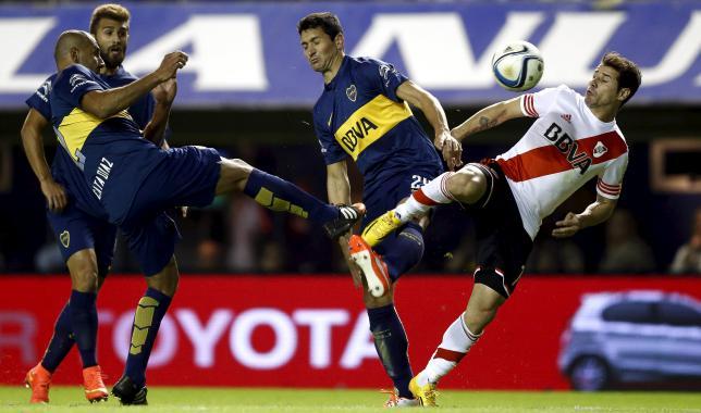 COPA LIBERTADORES 2015 : Suporter Siramkan Air Merica, Boca Juniors Didiskualifikasi