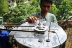 FOTO TEKNOLOGI TERBARU : Pengolah Limbah Batik Dibikin di Malang