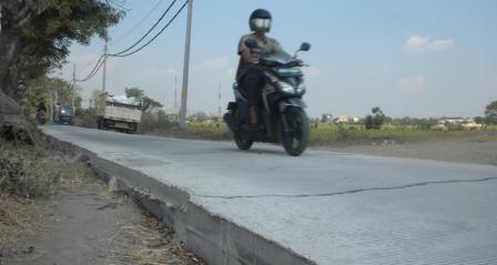 INFO MUDIK 2015 : H-10, Polisi Minta Proyek Jalan Sragen Dihentikan