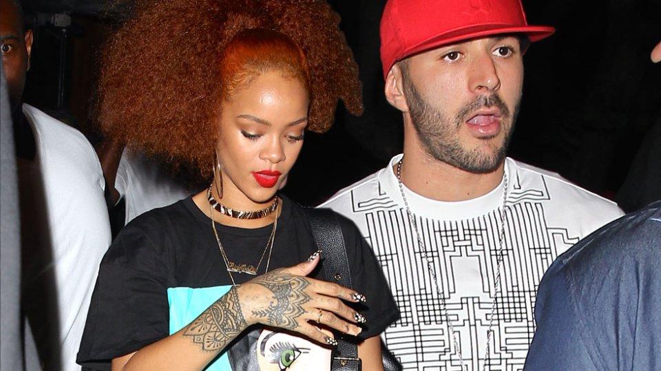 Rihanna dan Kari Benzema (okmagazine.com)