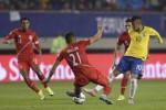 COPA AMERICA 2015 : Brasil Atasi Peru dengan Skor Tipis 2-1