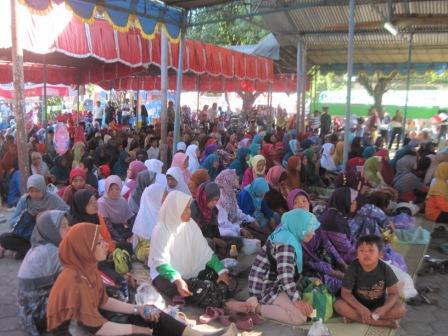 Hari Ini, Pawai Umat Islam Colomadu Karanganyar Digelar