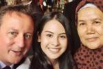 INSTAGRAM ARTIS : Maudy Ayunda Pamer Foto Selfie Bareng PM Inggris
