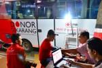 FOTO RAMADAN 2015 : Bus Transfusi Darah Beraksi di Kudus