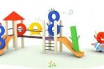 GOOGLE DOODLE : Peringati Hari Anak Nasional, Google Pajang Perosotan