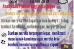 HARI ANAK NASIONAL : Forum Anak di Solo Kesulitan Himpun Data Anak