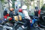 LEBARAN 2015 : Jalur Kalianak Surabaya Padat Motor Arus Balik