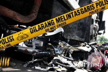 Tabrakan Pikap dan Scoopy Di Kulonprogo, Dua Orang Tewas di TKP