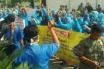 DEMO BURUH : Direktur RSUD Caruban Sesalkan Demo Karyawan