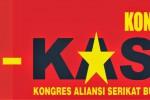 DEMO BURUH : Tolak Pekerja Asing, Serikat Buruh Madiun Cabut Mandat Jokowi
