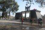 PENATAAN PKL KARANGANYAR : 100 PKL Ramai-Ramai Ngepel Taman Pancasila