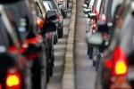 Ilustrasi kemacetan arus lalu lintas (JIBI/Bisnis/Dok.)