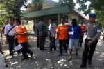 KASUS PERAMPOKAN : Polda Jateng Gelar Rekonstruksi Awal Perampokan Rp4,88 Miliar