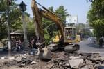 LALU LINTAS SOLO : Ini Lokasi Kemacetan di Solo Akibat Perbaikan Jalan
