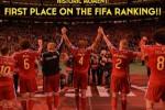 RANKING FIFA : Belgia Rebut Posisi Puncak Dari Argentina