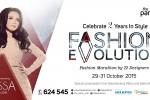Fashion Evolution - The Park Mall, 29-31 Oktober 2015