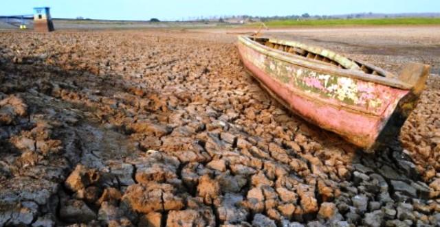 PERTANIAN MADIUN : Air 3 Waduk Ini Menyusut Drastis, Petani Diminta Tak Tanam padi