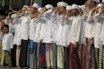 FOTO HARI SANTRI : Begini Upacara Hari Santri di Surabaya